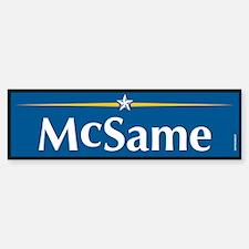McSame Anti McCain Bumper Bumper Bumper Sticker