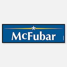 McFubar Anti McCain Bumper Bumper Bumper Sticker