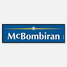 Mcbombiran Anti McCain Bumper Bumper Bumper Sticker