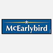 McEarlybird Anti McCain Bumper Bumper Bumper Sticker