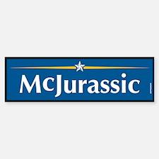 McJurassic Anti John McCain Bumper Bumper Bumper Sticker