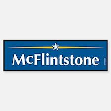 McFlintstone Anti John McCain Bumper Bumper Bumper Sticker