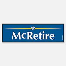 McRetire Anti John McCain Bumper Bumper Bumper Sticker