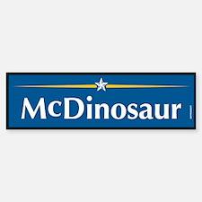 McDinosaur Anti McCain Bumper Bumper Bumper Sticker
