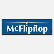 McFlipflop Anti McCain Bumper Bumper Bumper Sticker