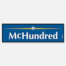 McHundred Anti McCain Bumper Bumper Bumper Sticker