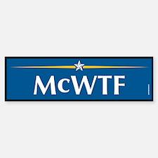 McWTF Anti John McCain Bumper Bumper Bumper Sticker