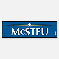 McSTFU Anti McCain Bumper Bumper Bumper Sticker