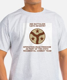 2-128th Infantry <BR>Iraqi Freedom Shirt 35