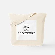 Bo for President Tote Bag