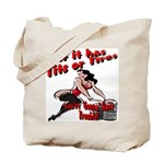 Tits Or Tires Tote Bag