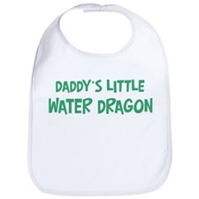Daddys little Water Dragon Bib