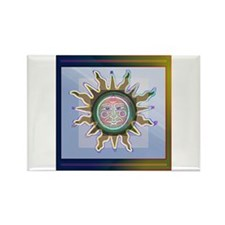 Recovery SUN Rectangle Magnet (10 pack)
