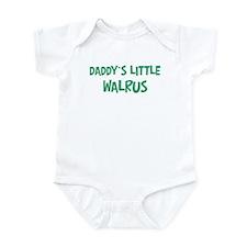 Daddys little Walrus Onesie