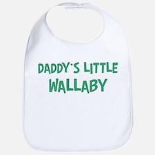 Daddys little Wallaby Bib