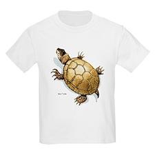 Mud Turtle (Front) Kids T-Shirt