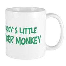 Daddys little Spider Monkey Mug