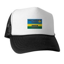 What Happens In RWANDA Stays There Trucker Hat