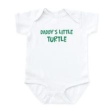 Daddys little Turtle Onesie