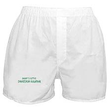 Daddys little Snakeskin Goura Boxer Shorts