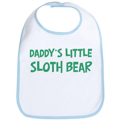 Daddys little Sloth Bear Bib