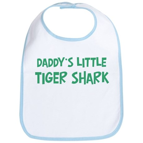 Daddys little Tiger Shark Bib