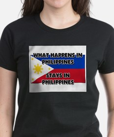 What Happens In PHILIPPINES Stays There Tee