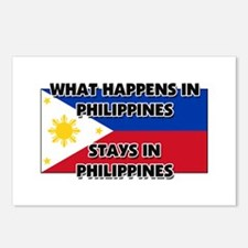 What Happens In PHILIPPINES Stays There Postcards