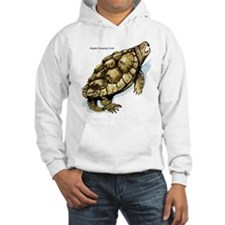 Alligator Snapping Turtle (Front) Hoodie