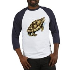 Alligator Snapping Turtle (Front) Baseball Jersey