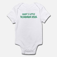 Daddys little Tasmanian Devil Infant Bodysuit