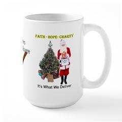 Masonic Santa Faith On the Square Mug