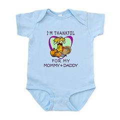 Thanksgiving Kids Infant Bodysuit