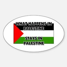 What Happens In PALESTINE Stays There Decal