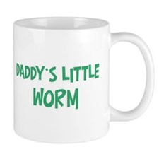 Daddys little Worm Mug