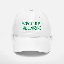 Daddys little Wolverine Baseball Baseball Cap