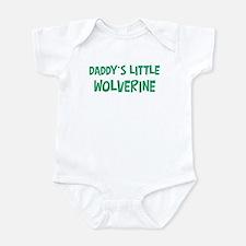 Daddys little Wolverine Onesie