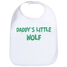 Daddys little Wolf Bib