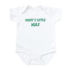 Daddys little Wolf Onesie