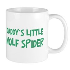 Daddys little Wolf Spider Mug
