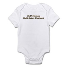 Half-Asian Elephant Infant Bodysuit