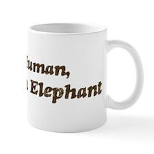 Half-Asian Elephant Mug