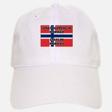 What Happens In NORWAY Stays There Baseball Baseball Cap