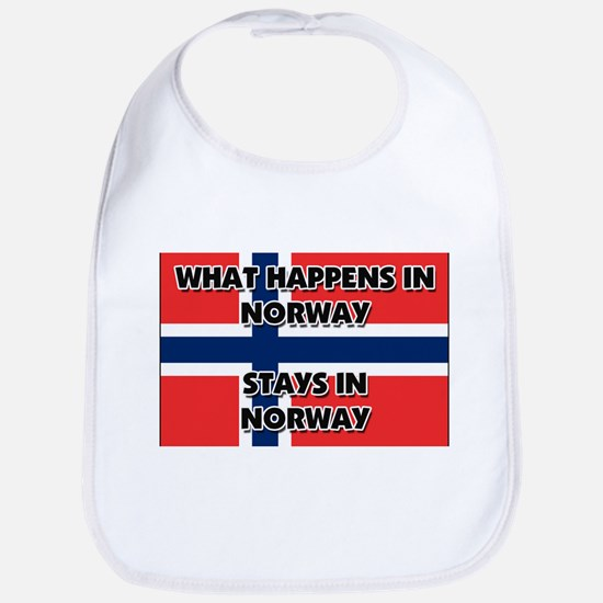 What Happens In NORWAY Stays There Bib