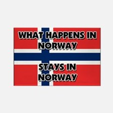 What Happens In NORWAY Stays There Rectangle Magne
