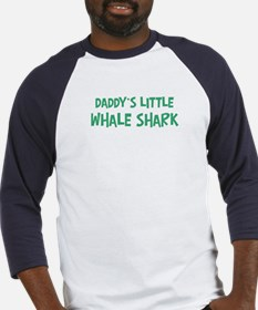 Daddys little Whale Shark Baseball Jersey