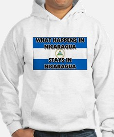 What Happens In NICARAGUA Stays There Hoodie