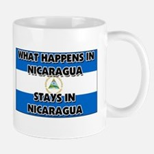 What Happens In NICARAGUA Stays There Mug