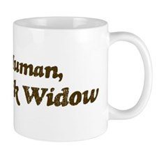 Half-Black Widow Mug
