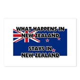 New zealand flag Postcards